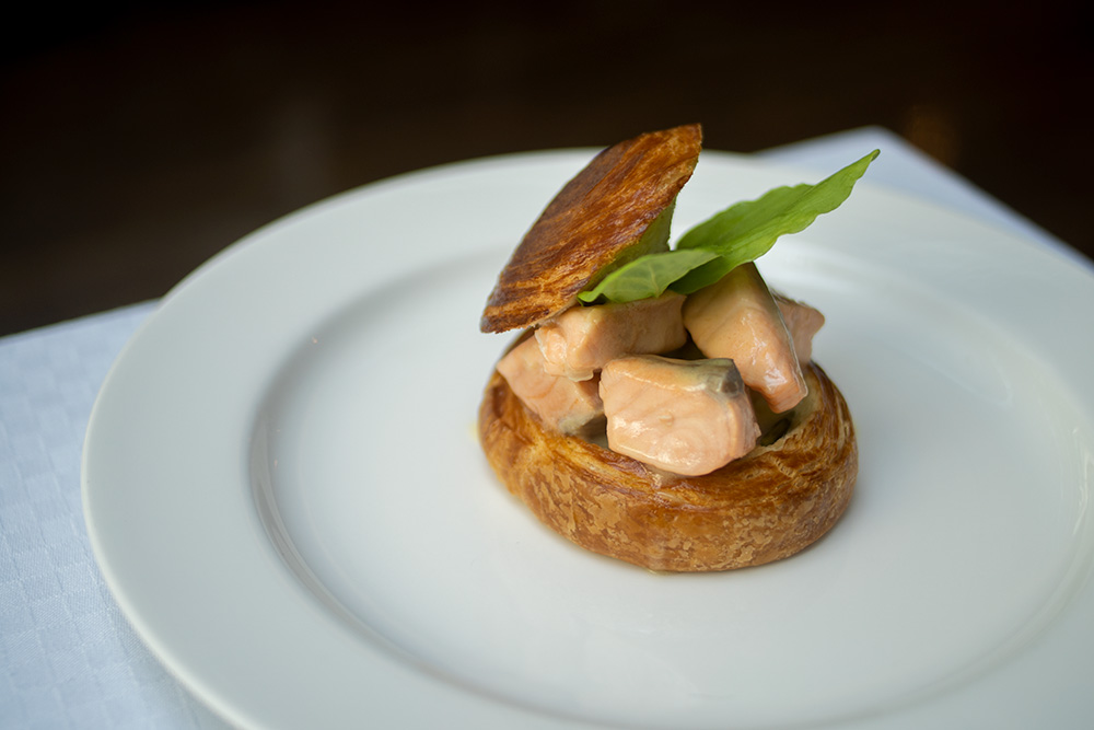 Salmon Oseille Vol au Vent