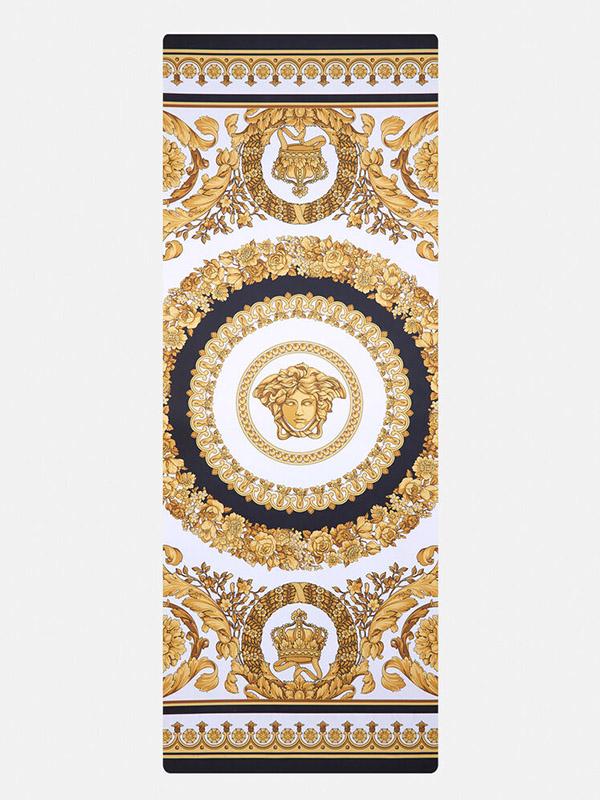Versace I ♡ Baroque Print Yoga Mat
