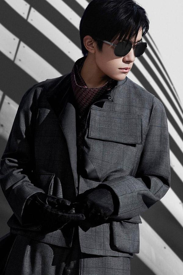 Jackson Yee – Emporio Armani, Tiffany & Co