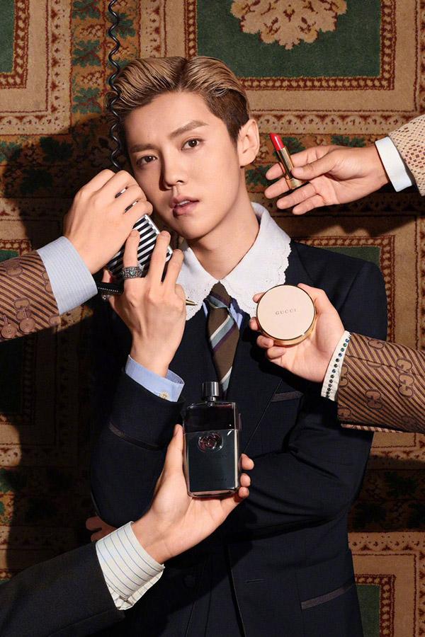 Luhan – Gucci, Cartier
